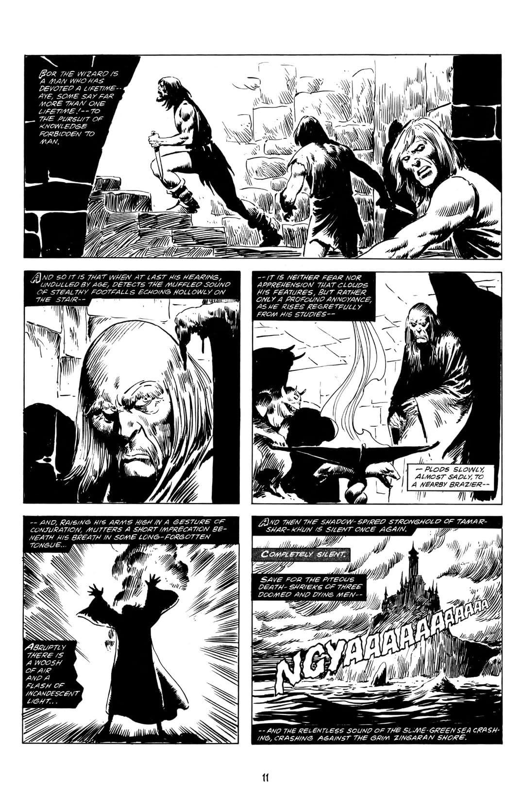The Savage Sword of Conan Vol. 6