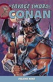 The Savage Sword of Conan Vol. 9