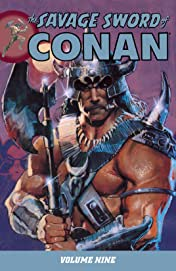 The Savage Sword of Conan Vol. 9