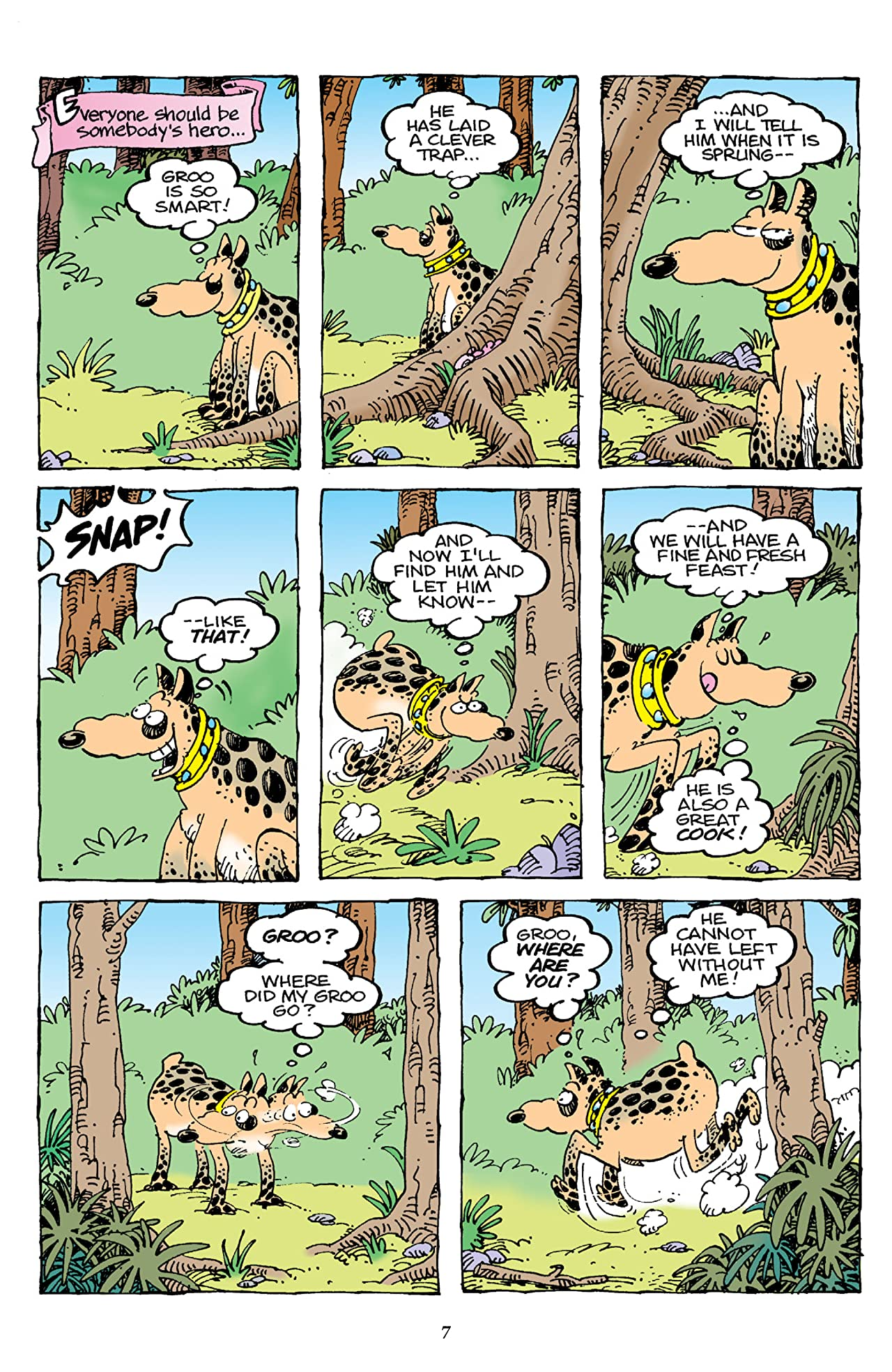 Sergio Aragones' Groo and Rufferto