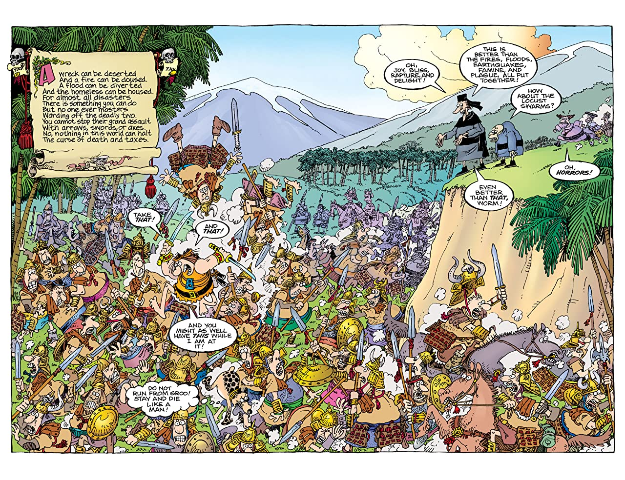 Sergio Aragones' Groo: Death and Taxes