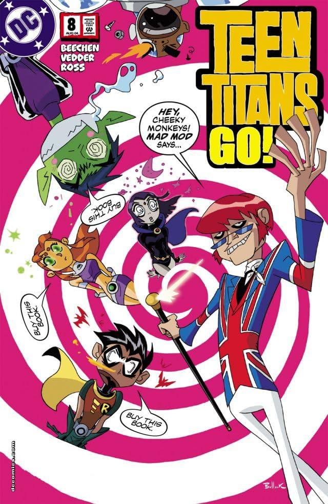 Teen Titans Go! (2004-2008) #8