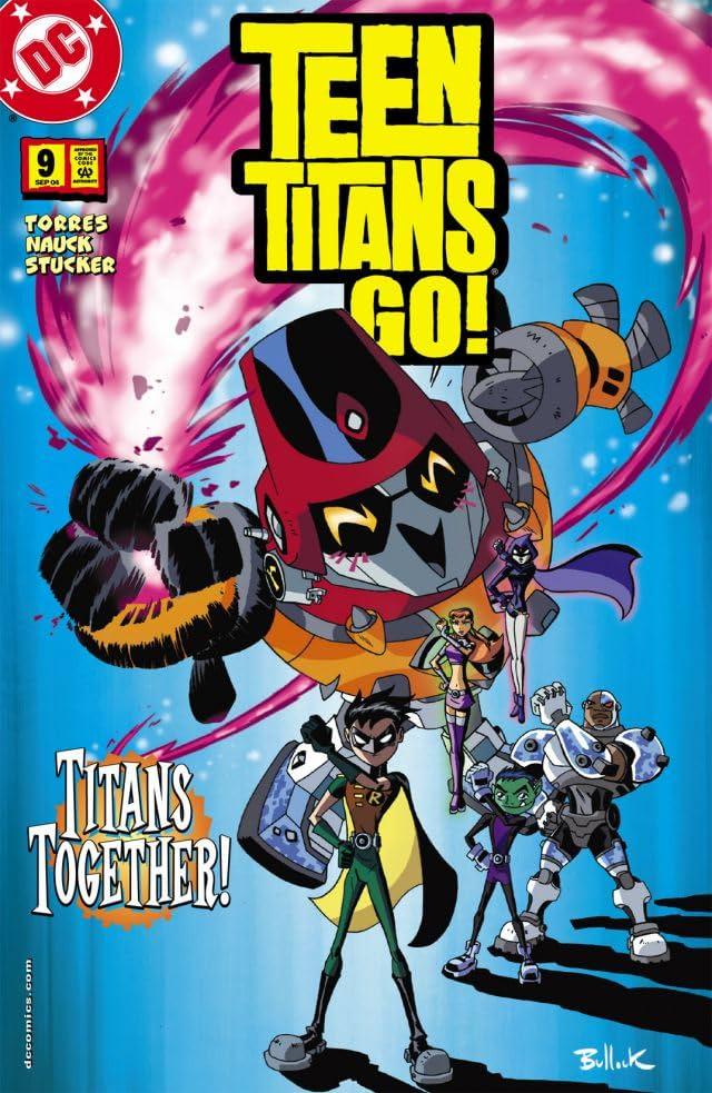 Teen Titans Go! (2004-2008) #9