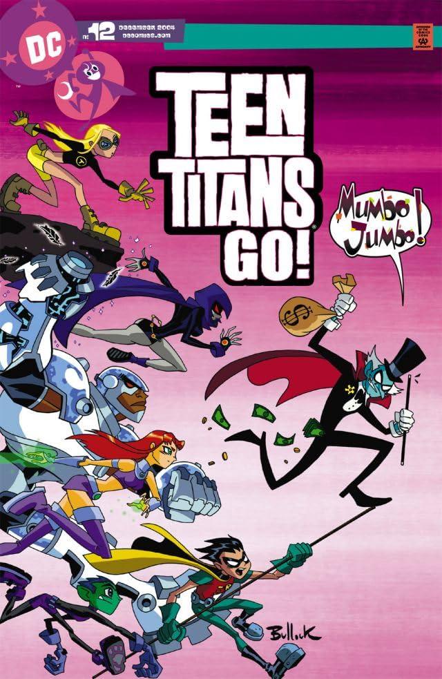 Teen Titans Go! (2004-2008) #12