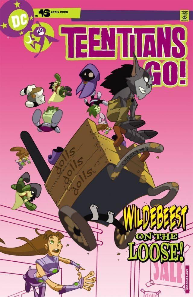 Teen Titans Go! (2004-2008) #16