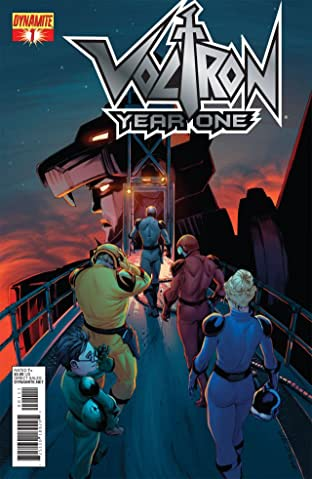 Voltron: Year One #1