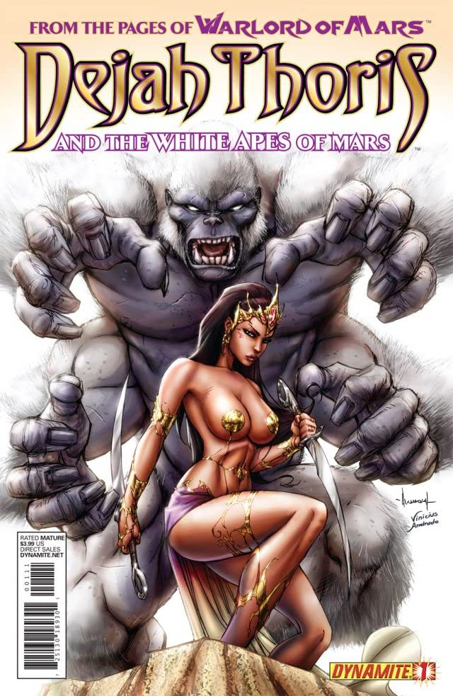 Dejah Thoris and the White Apes of Mars #1