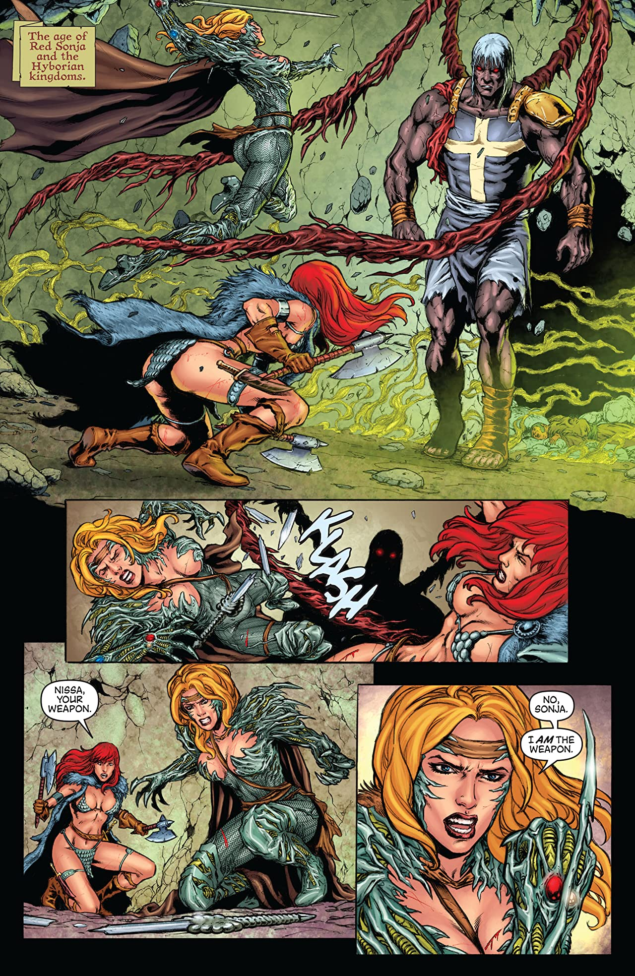 Witchblade/Red Sonja #2
