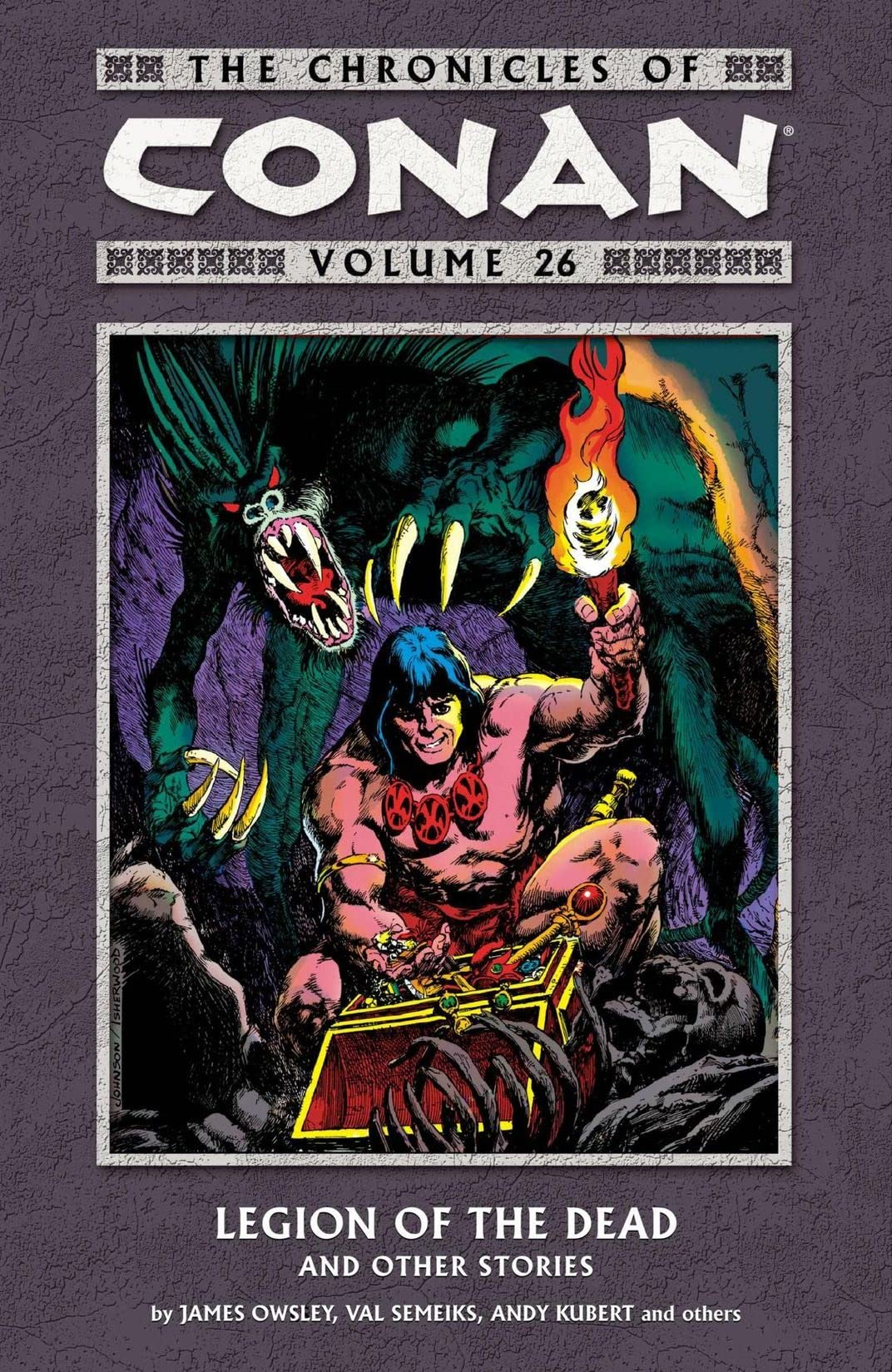 Chronicles of Conan Vol. 26: Legion of the Dead and Other Stories