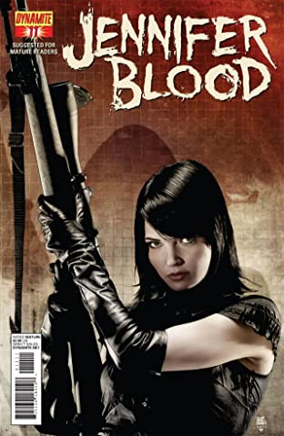Garth Ennis' Jennifer Blood #11