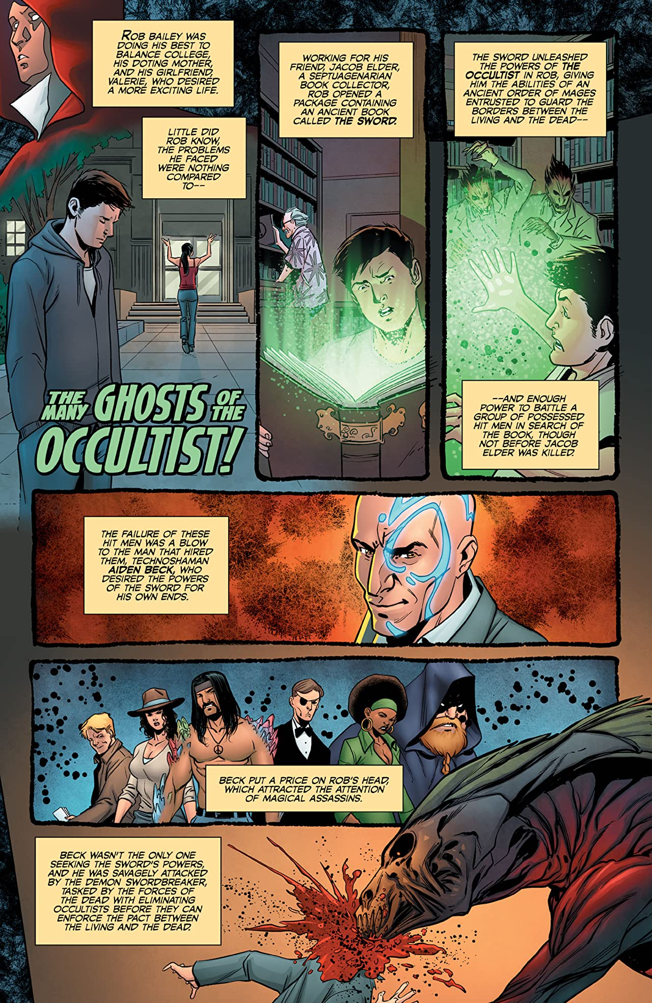 The Occultist Vol. 2: At Deaths Door