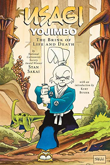 Usagi Yojimbo Vol. 10: The Brink of Life and Death