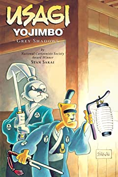 Usagi Yojimbo Vol. 13: Grey Shadows