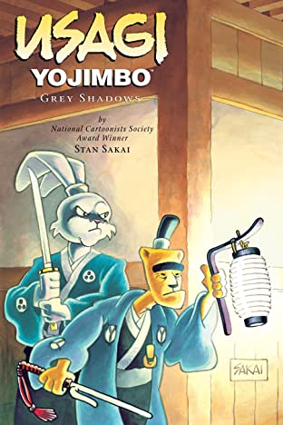 Usagi Yojimbo Tome 13: Grey Shadows