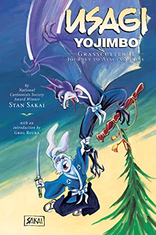 Usagi Yojimbo Tome 15: Grasscutter II - Journey to Atsuta Shrine