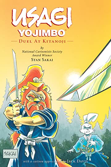 Usagi Yojimbo Vol. 17: Duel at Kitanoji
