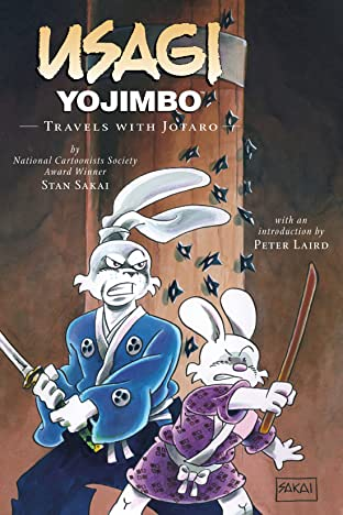 Usagi Yojimbo Tome 18: Travels with Jotaro