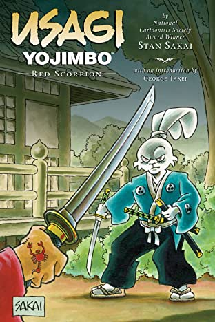 Usagi Yojimbo Tome 28: Red Scorpion
