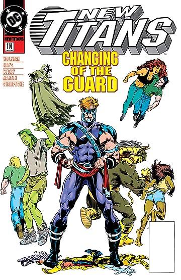 The New Titans (1984-1996) #114