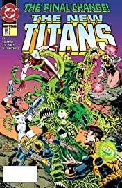 The New Titans (1984-1996) #115