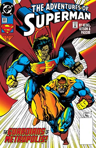 Adventures of Superman (1986-2006) #511