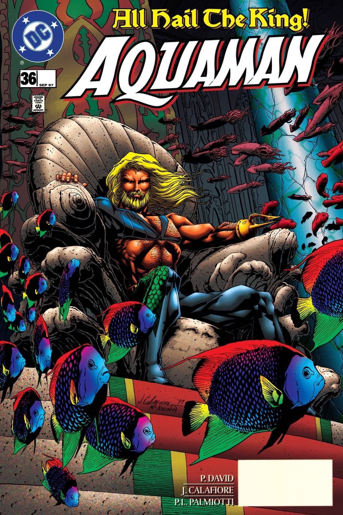 Aquaman (1994-2001) #36