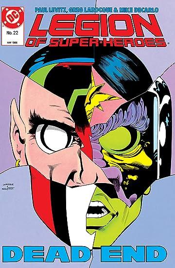 Legion of Super-Heroes (1984-1989) #22