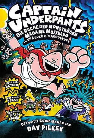 Captain Underpants Vol. 3: Die Rache der mönströsen Madame Muffelpo