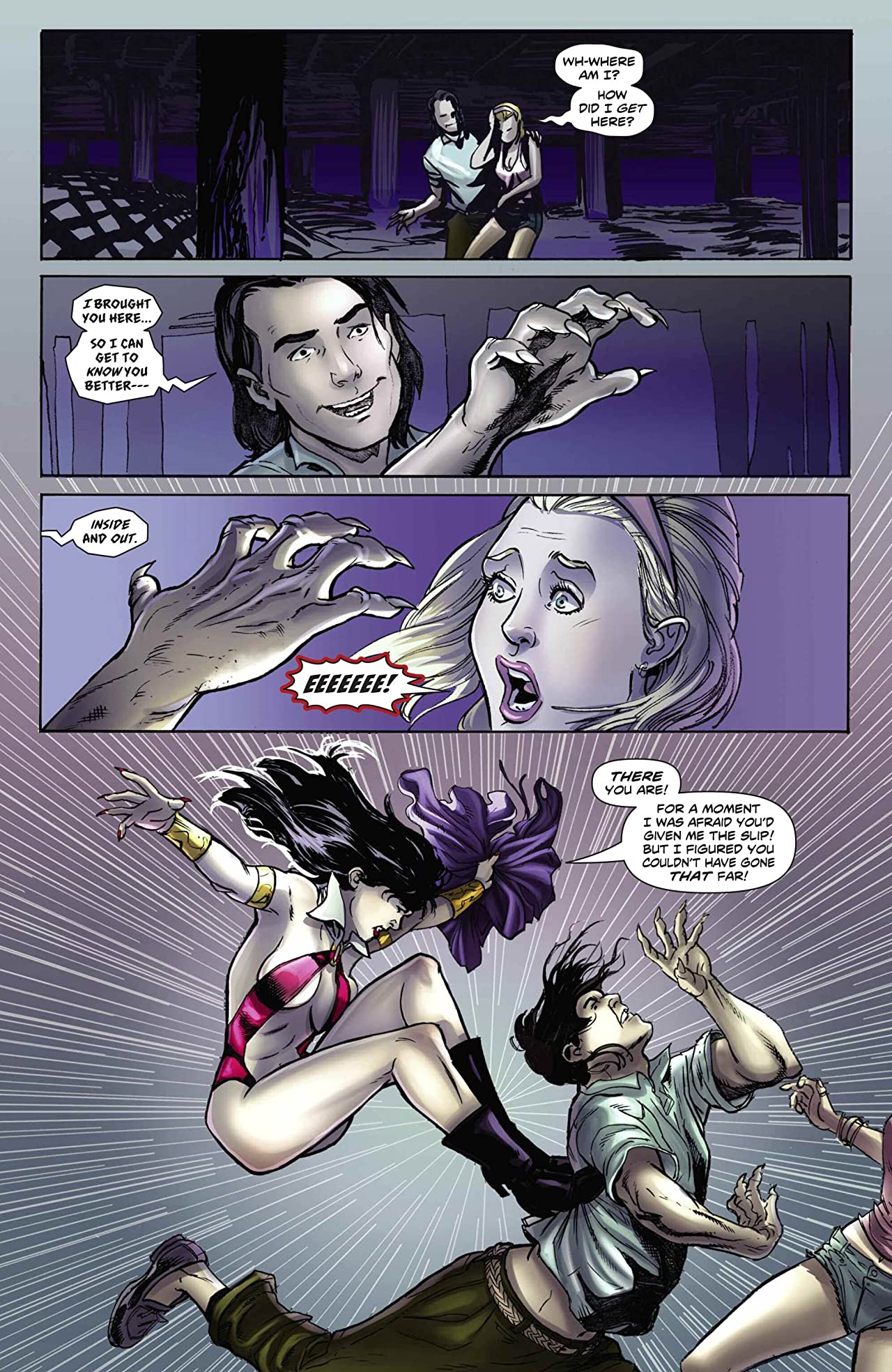 Swords of Sorrow: Vampirella & Jennifer Blood #1 (of 4): Digital Exclusive Edition