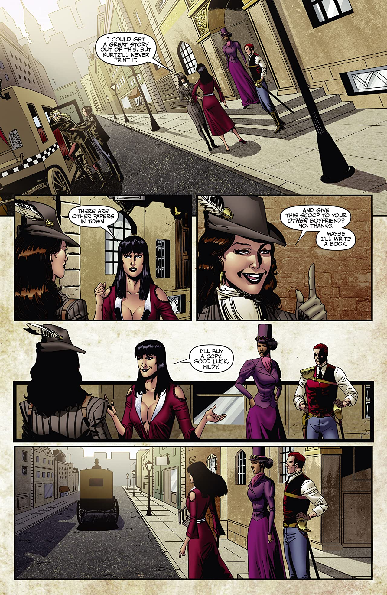 Legenderry: Vampirella #4 (of 5): Digital Exclusive Edition