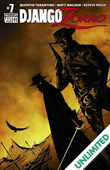 Django/Zorro #7 (of 7): Digital Exclusive Edition
