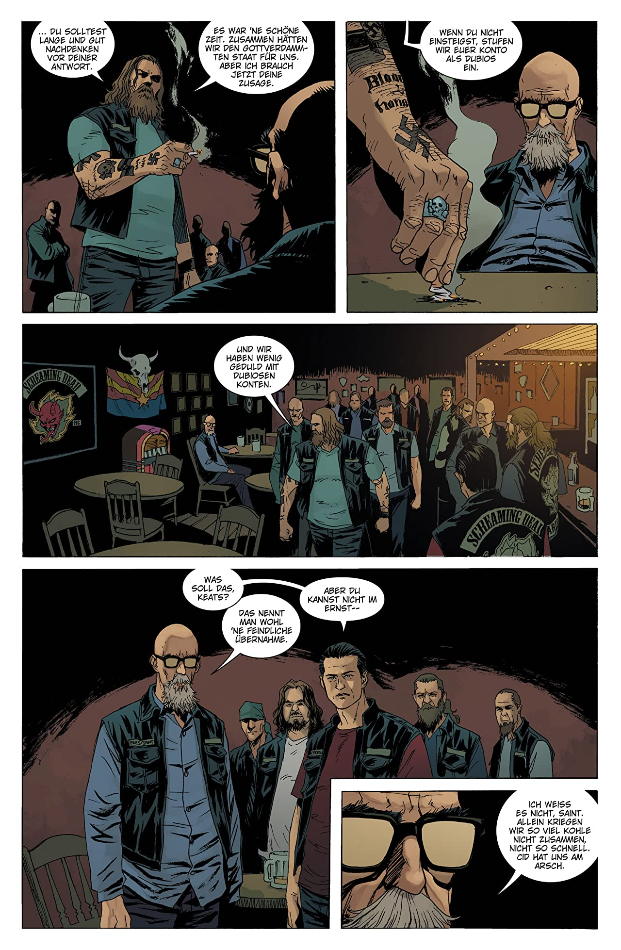 Sons of Anarchy Vol. 3: Doppeltes Spiel