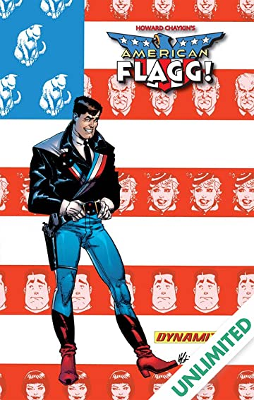 American Flagg!: Definitive Collection