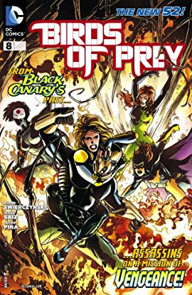 Birds of Prey (2011-2014) #8