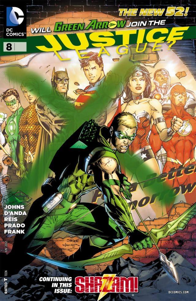 Justice League (2011-) #8