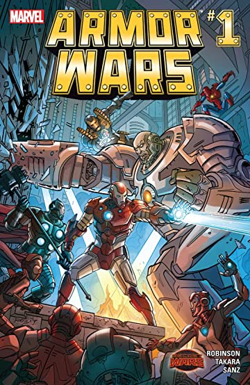 Armor Wars (2015) No.1