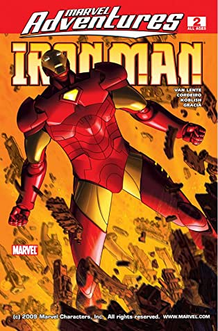 Marvel Adventures Iron Man (2007-2008) #2