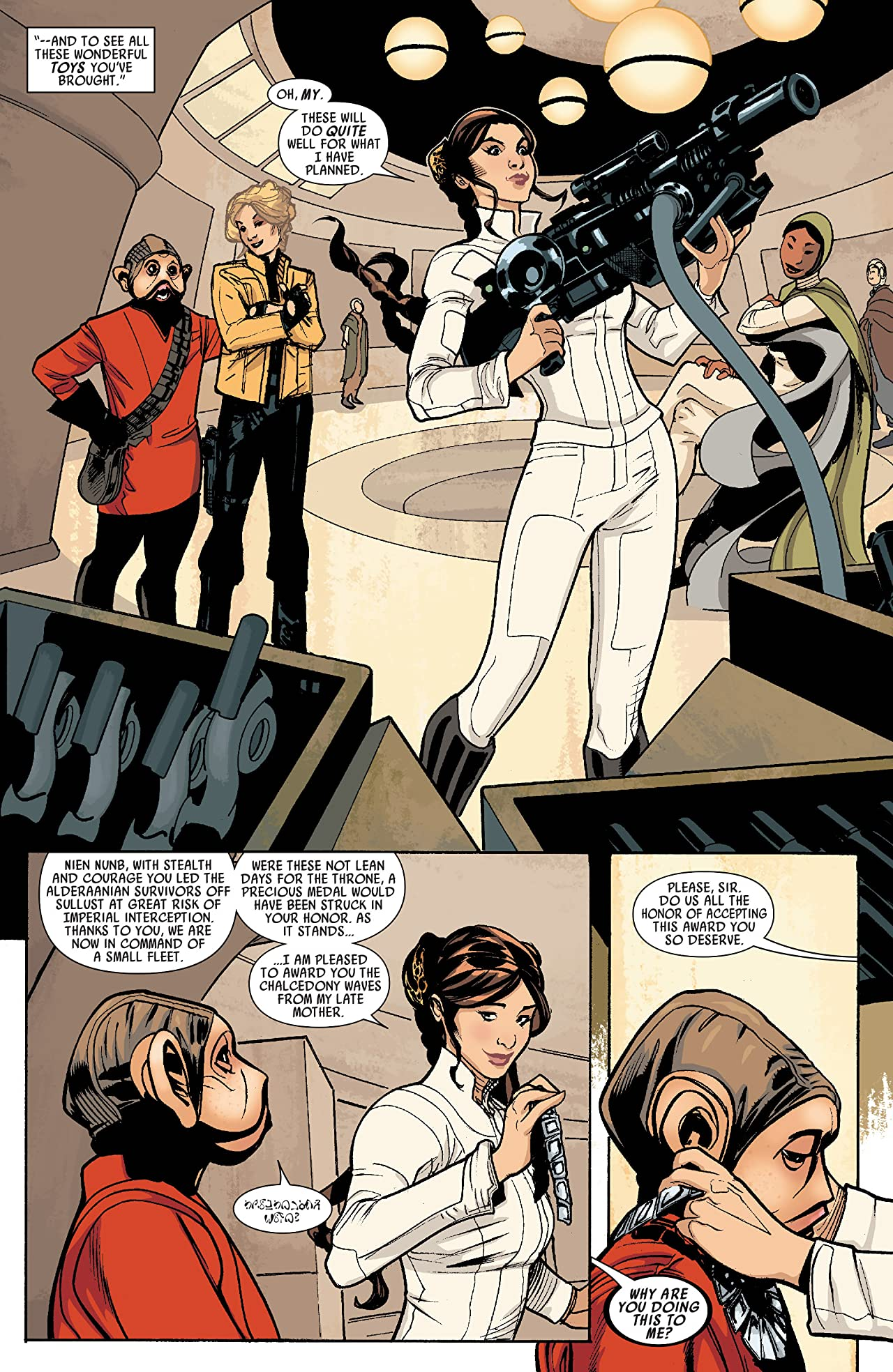 Princess Leia (2015) #4 (of 5)