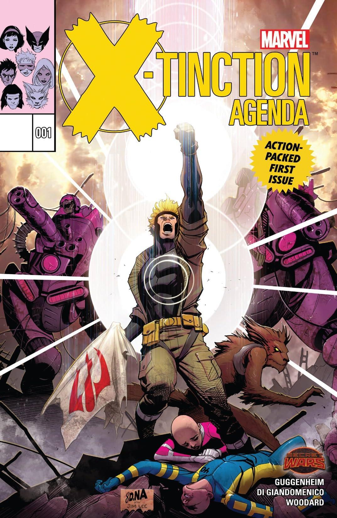 X-Tinction Agenda (2015) #1