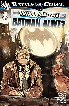 Gotham Gazette: Batman Alive #1