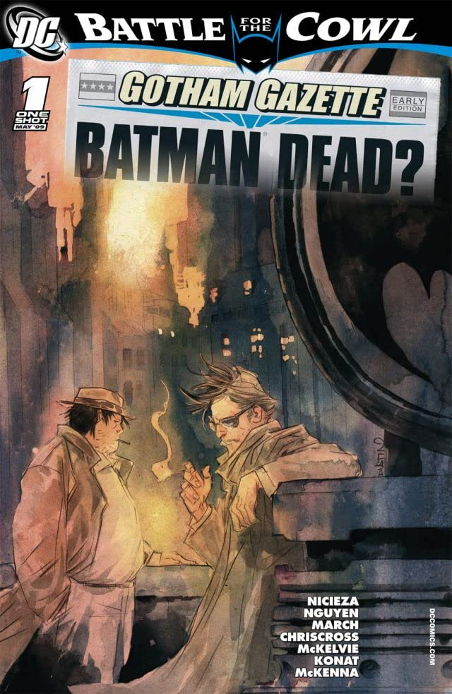 Gotham Gazette: Batman Dead #1