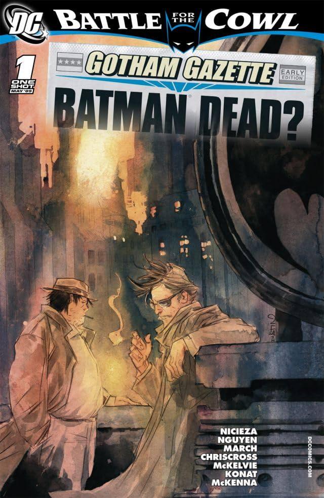 Gotham Gazette: Batman Dead #1