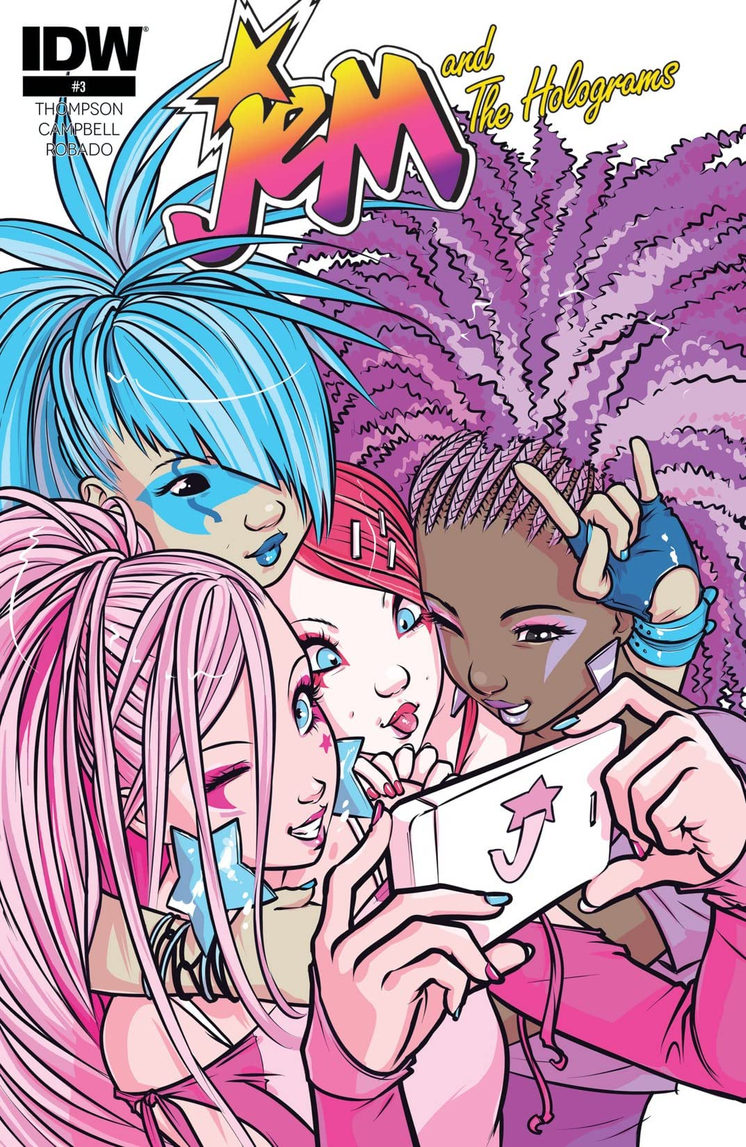 Jem and the Holograms (2015-) #3
