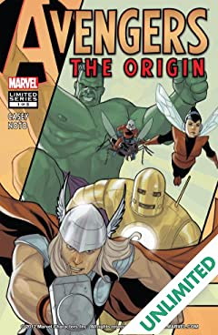 Avengers: The Origin #1 (of 5)