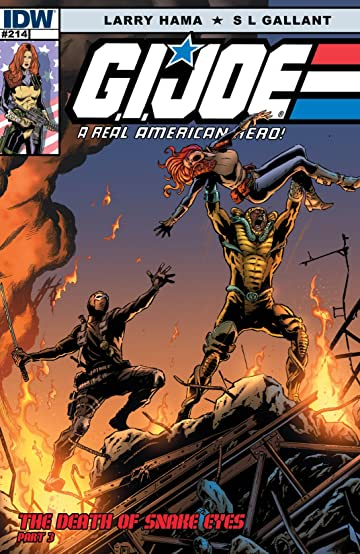 G.I. Joe: A Real American Hero #214: The Death of Snake Eyes: Part 3