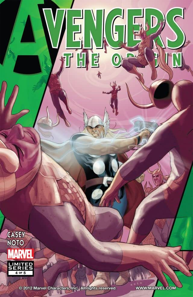 Avengers: The Origin #4 (of 5)
