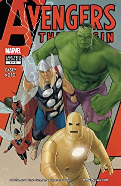 Avengers: The Origin #5 (of 5)