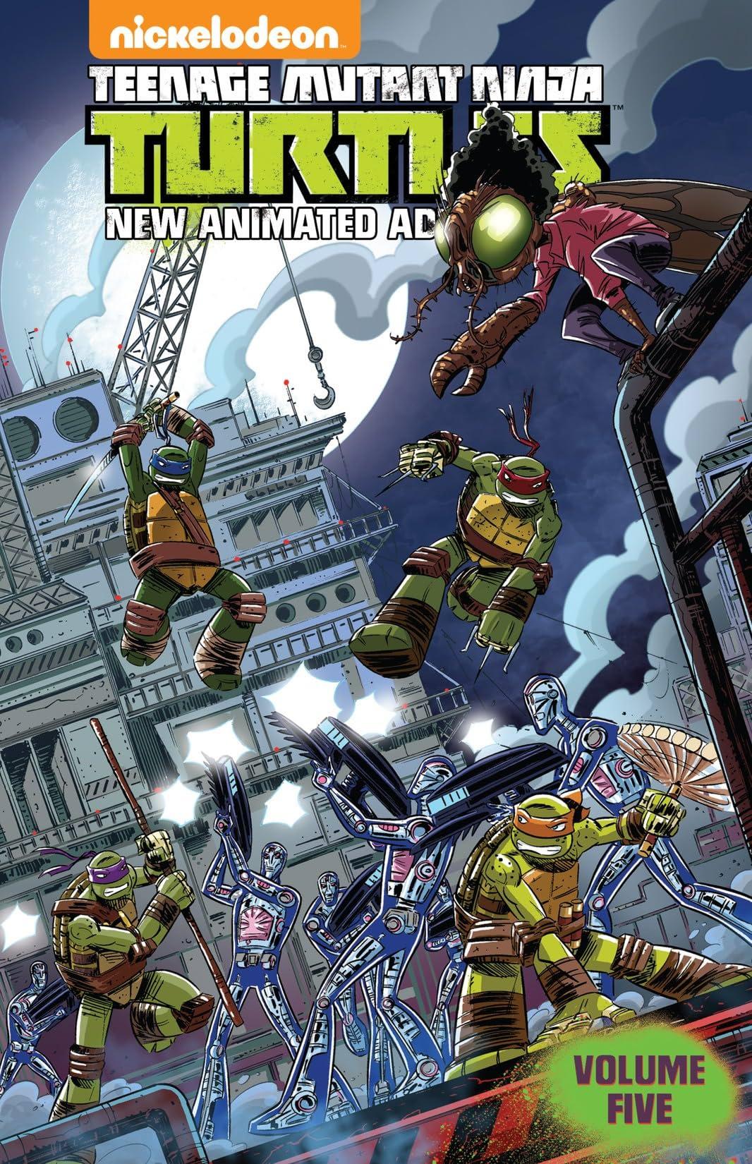 Teenage Mutant Ninja Turtles: New Animated Adventures Vol. 5