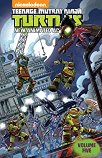 Teenage Mutant Ninja Turtles: New Animated Adventures Vol. 5