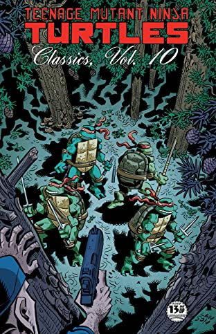 Teenage Mutant Ninja Turtles: Classics Tome 10
